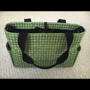 Kate Spade Noel Dot Diaper/Laptop/Travel Bag